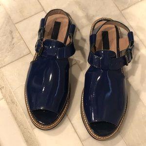 Topshop Blue Sandals
